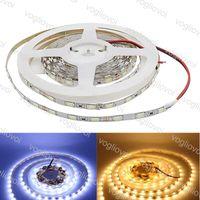 LED tiras lado estreito 5630 SMD tira flexível 60LED / M DC12V IP20 não impermeável 3500K 6500K tape lâmpada de lâmpada luz DHL