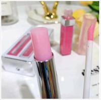 CALIENTE 2en1 Cosméticos Barra de labios mate líquido Rouge levre un brillo de labios de color Maquillaje Lipgloss del kit del sistema