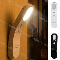 Bewegungssensor LED Light Night Lights 6LED 5V wiederaufladbar 6500K 3200K PC für Badezimmer Korridor Garderobe Schlafzimmer Wohnzimmer Eub