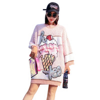 SALE Fashion Christmas Nice Sweater dress jumper autumn wint...