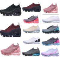 gündelik v2 ayakkabı boyutu 36-45 Yürüyüş 2,0 Çalıştır Ayakkabı Siyah Beyaz Spor Şok Koşu Yürüyüş çalışan 2018 Yeni Gelenler Erkekler kadınlar klasik