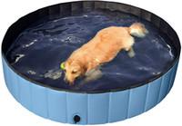 Складной жесткий пластик Roiddie Baby Dog Pet Banter Бассейн Складная собака ПЭТ-бассейн Купальная ванна Кидди Бассейн для детей Домашние животные Собаки Кошки