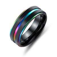Fashion Tungsten Carbide Ring Men Women Wedding Band Engagement Ring 7mm Comfort Fit size 7 -11
