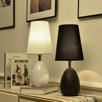 Nordic bedroom table lamp bedside lamp simple modern creativ...