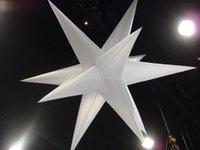 나이트 클럽이나 웨딩 파티 음악 공원 천장 장식을위한 LED 라이트와 풍선 풍선 스타 매달려