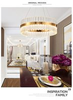 Lampadario di cristallo vintage Illuminazione Candelieri Candela RH Lampada a sospensione a sospensione per soggiorno e sala da pranzo Decor LED lampada