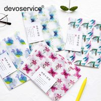 3Pcs Lot Creative Butterfly Translucent Envelope Message Car...