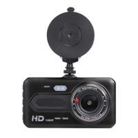 2CH Araba DVR Kamera FHD Video Kaydedici 1080 P Sürüş Dash Cam 170 ° Geniş Görünüm Açılı Gece Görüş G-Sensor Döngü Kayıt Hareket Algılama