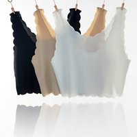 B-Ice silk без бретелек Anti-going light bottoming маленький камзол жилет женский лето без рукавов короткие обернутые груди топ трубка рубашка внутри weari
