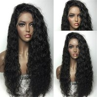 Lace Front Human Hair Wigs For Black Women 180% High Density...