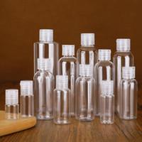 100ML Hand Sanitizer viagem recarregáveis garrafa de maquiagem vazios garrafas de plástico flip Cap para Liquid Lotion Creme Garrafa Maquiagem portátil