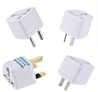 Universal Netzteil Reiseadapter AU US EU UK-Plug-Ladegerät-Adapter-Konverter-Konverter 3-Pin-Wechselstromleistung für Australien Neuseeland
