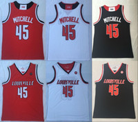 New Arrival. 2019 NCAA New Louisville Cardinals Donovan Mitchell College  Basketball Jerseys Mens ... 95bb3834d