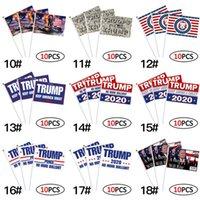 Dekor Banner Trump Flagge Amerika wieder für Präsidenten USA Donald Trump Wahl Banner Flag Donald Flags 14 * 21cm 21styles 1pc RRA3181