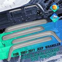 1Set Auto Door Wind Deflector Window Deflectors Translucent ...