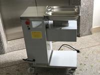 Freies Verschiffen QE Modell 110V Fleischschneider für Hühnerbrustfleisch Slicer RRestaurant Fleisch Schneidemaschine