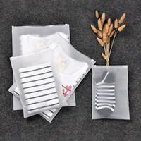 Translúcido impermeável selar Bag Receber Bags abrasivos Viagem Bagagem Roupa sacos de embalagem Bag espessamento Sealed