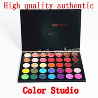 Kozmetik Göz Farı Paleti Güzellik Sırlı renk stüdyo 35 renkler Göz Farı mat ve ışıltı Göz Farı Paleti kozmetik DHL