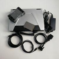 MB Star C6 SD Connect C6 V12.2020 Soft-Ware لأدوات التشخيص التلقائي مع كمبيوتر محمول مستعمل CF52 4G وقرص الصلب جاهز للعمل