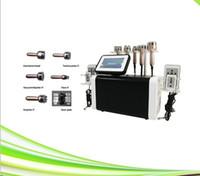 6 W 1 Kim 8 Odchudzanie Ultradźwiękowe Usuwanie Cavition Cavigation RF Maszyna do masażu Caviting Pełny system kawitacji próżniowej