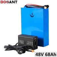 hohe Kapazität 68Ah 48V 2000W elektrische Fahrradbatterie für 32650 Zelle 13S 10P 48V 1500W Lithiumbatterie US EU Freie Steuern / Zoll