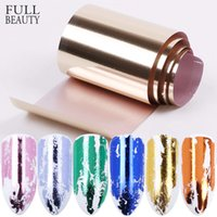 14pcs Gold Sliver Slider Foil For Nail Holographic Transfer Wrap Sticker Adhesive Starry Manicure Decor Set