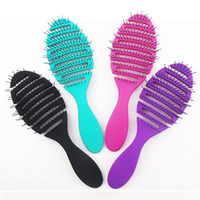 1pcs wet brush Comb tool barber Hair Brush Hair Styling Tool...