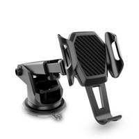 Cep Telefonu için Emme Kupası Base ile Evrensel Araç Montaj Telefon Tutucu Ayarlanabilir Cam Katlanabilir Araç Cep Telefonu Tutucu