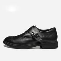 Полное Зерно Кожа Мужчины Платье Обувь Мода Удобные Hecrafted 2019 Мужская Обувь