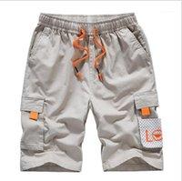 Дизайнер Короткие брюки Лето Мода колен Брюки Плюс Размер штанах Мужской одежды Mens 2020 Luxury