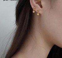 2020 semplice piccola piccola stella orecchini per le donne Bohemia Matel sfera sul post orecchini di dichiarazione orecchini colore dell'oro