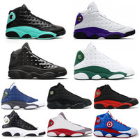 men basketball shoes 13 13s LUCKY GREEN Retro Cap and Gown C...