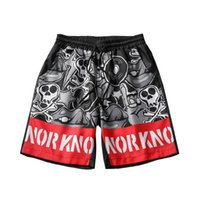 Hip Hop Skull Swag Board Shorts Beach Estate Uomo traspirante Quick Dry Punk Rock Surfing Trunks Horror Costumi da bagno Fresco Pantaloni corti