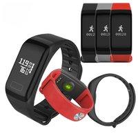 Pressão F1 relógio inteligente de Fitness Rastreador Pulseira Heart Rate Monitor inteligente Banda F1 Smartband sangue com pedômetro Bracelet