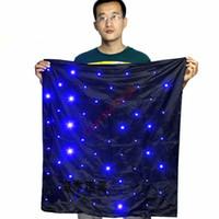 青いライト/ステージマジックマジックトリックと送料無料ブレンドバッグ