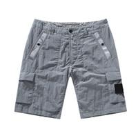 CP Topstoney 2020 Konng Gonng Nuevo estilo Pantalones cortos de marca Marca en verano Metal Nylon Casual Pantalones cortos sueltos de secado rápido Pantalón de playa