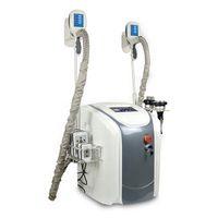 Портативный похудения машина Криотерапия Cryo липолиз сублимационной Лепка ультразвуковой липосакции РФ Lipo машины лазерной жира Замораживание машина