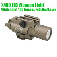 Tactical CNC Making SF X400 Gun Light LED Pistol Rifle White...
