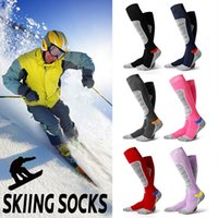2018 New style Autumn and Winter Warm l Ski Socks Thick Cott...