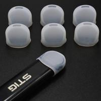 chiaro silicone coperchio boccaglio usa e getta tester per vgod stig penna vape a buon mercato e sigaretta fumatori accessori tappo a goccia test test