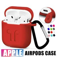 Airpods Accessory Slicone Protective Full cover case For App...