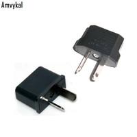 Amvykal 고품질 호주 여행 변환 플러그 어댑터 EU 미국 AU 플러그 어댑터 컨버터 보편적 인 AC 전원 전기 플러그