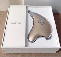 고품질 일본 브랜드 Marasil 전문 패션 레이디 미세 전류 스크래핑 얼굴 전기 장치 미용기구