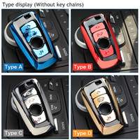 ABS السيارات مفتاح السيارة قذيفة غطاء حامل لحالة BMW F07 F10 F11 F20 F25 F26 F30