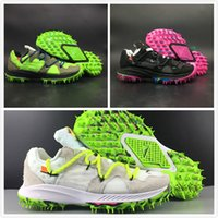 Compre 2019 Nuevo OFF WHITE X Nike Zoom Terra Kiger 5 Atleta