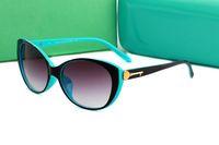 Yüksek Kalite Marka Güneş gözlükleri kadınlar Için Yeni Moda 4099 Güneş Gözlüğü Tasarımcı Gözlük erkek Womens Güneş Gözl ...