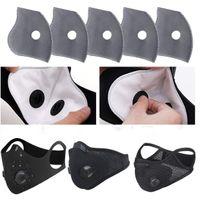 شركة يو بي إس تشحن 24 ساعة في المخزن! 50pcs 5 Layers Activated Carbon Protective Filter Media Addition For Mouth Dust Pm2. 5 Mask fy9040