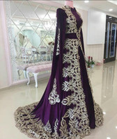 Moroccan Caftan Evening Dresses With Appliques Lace Elegant ...