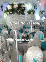 Hint Kristal uzun boylu çiçek standı, yol kurşun düğün masa dekorasyon decor652