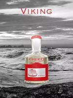 Marca 120ML Creed Viking Eau De Perfume per gli uomini con alta fragranza duratura Alta qualità Acquisto libero
